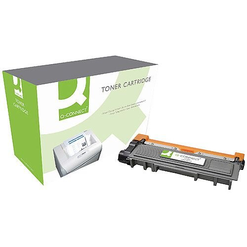 Q-Connect Brother HY Black Toner Cartridge TN2320
