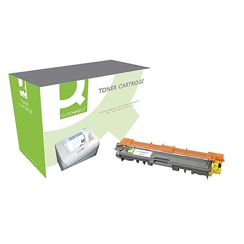 Q-Connect Brother Toner Cartridge TN245Y Yellow TN245Y-COMP