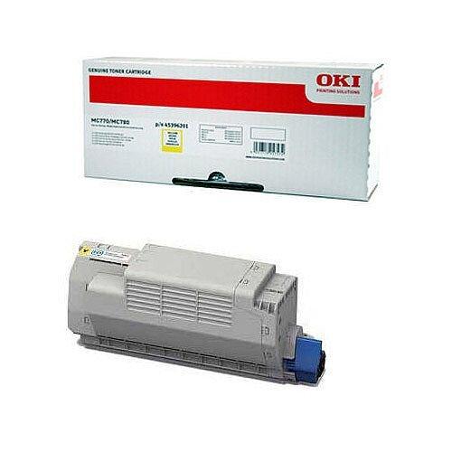 OKI 45396201 Yellow High Capacity Toner Cartridge