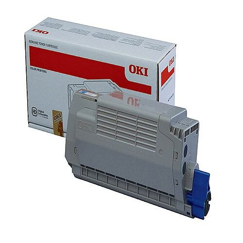 OKI 45396203 Cyan High Capacity Toner Cartridge