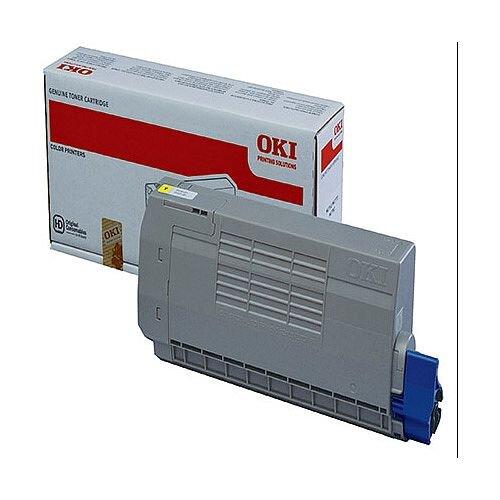 OKI 45396301 Yellow Standard Capacity Toner Cartridge