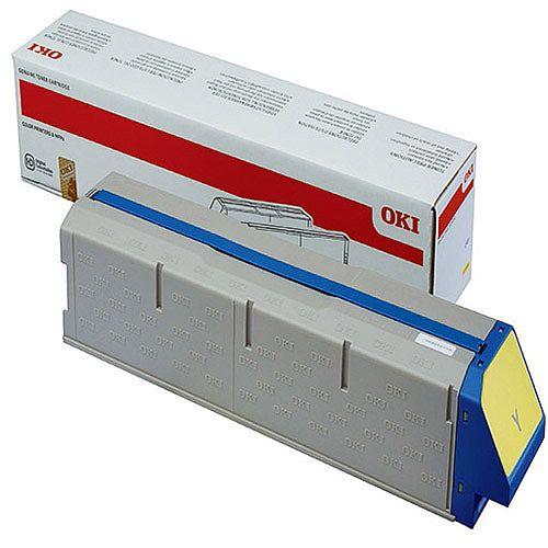 OKI 45536505 Yellow High Capacity Toner Cartridge