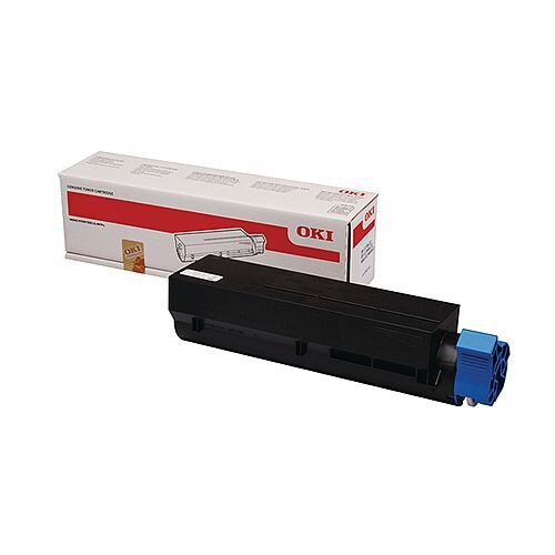 OKI 45807102 Laser toner - 3000 pages Black toner cartridge -  manufactured to the highest possible standards - Compatibility B412/B432/B512/MB472/MB492/MB562