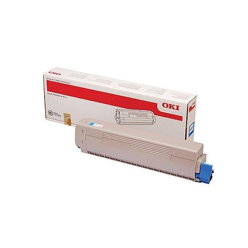 OKI MC873 Toner 10000 Pages Cyan 45862816