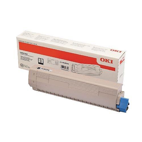 OKI 46443104 Black High Capacity Toner Cartridge