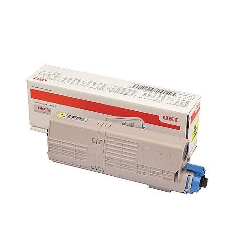 OKI 46490605 Yellow High Capacity Toner Cartridge