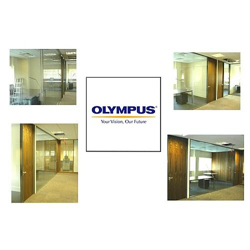 Olympus Biotech Research Company in Limerick University Supply &installation of partition wall system by HuntOffice Interiors