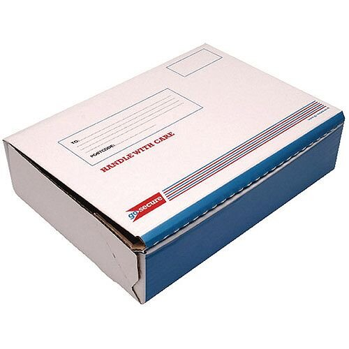 Go Secure Post Box Size B 318x224x80mm Pack of 20 PB02281