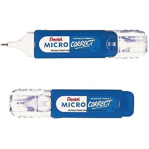 Pentel Micro Correction Pen 12ml Ref XZL31-W
