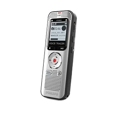 Philips Voice Tracer Recorder DVT2000 4GB Internal Memory. Includes MicroSD Card Slot For Optional Additional storage. This device Can Also Tune In To Radio Frequencies &Lets You Record Your Favourite Radio Programmes.