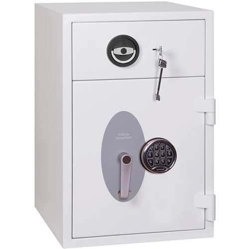Phoenix Diamond Deposit HS1090ED 44L Security Safe With Electronic Lock White