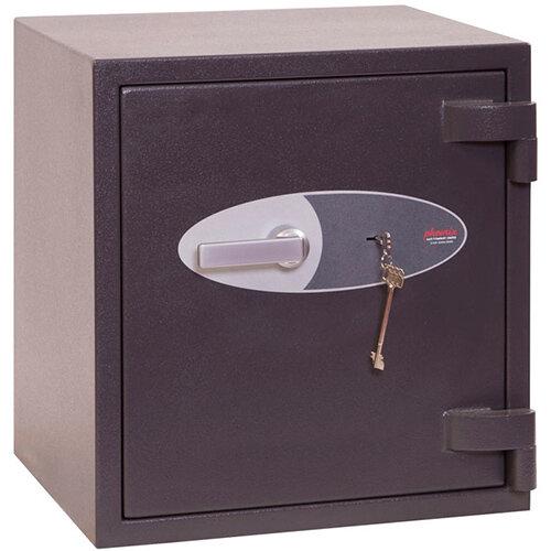 Phoenix Elara HS3551K 56L Security Safe With Key Lock Grey