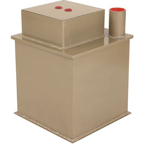 Phoenix Tarvos UF0623KD 12'' 25L 2K Underfloor Security Safe with Key Lock &Deposit Slot Gold