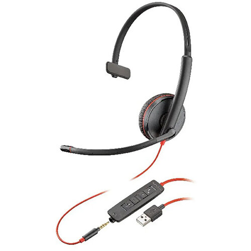 Plantronics Blackwire Monaural C3215 USB-A 20946-101