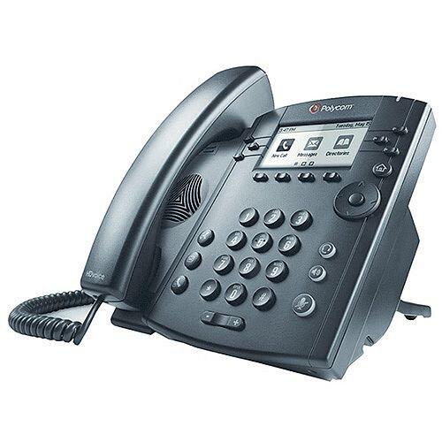 Polycom Black VVX 300 Wired Handset 2200-46135-025