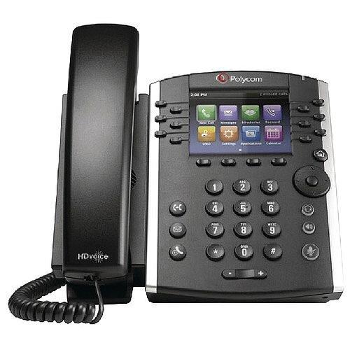 Polycom VVX 400 Black Wired Handset 2200-46157-025