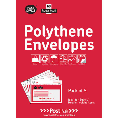 Polythene Envelopes 460 x 430