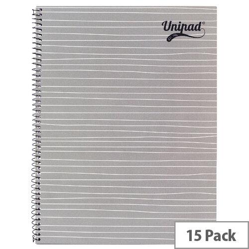 Pukka Unipad Spiral Notepad A4 Pack of 15 USP80