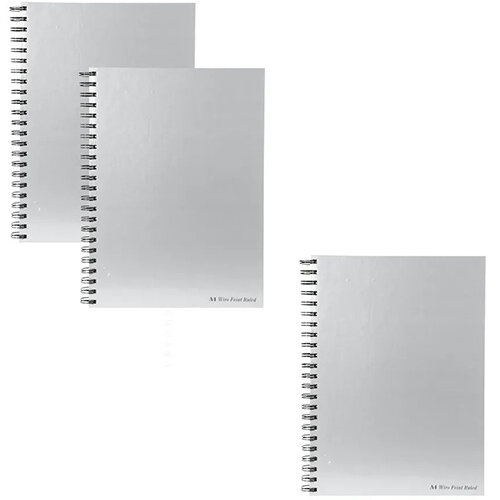 Pukka Pad Wirebound Casebook A4 90gsm Get 3 for the Price of 2 (Pack of 10 + 5) PP816965