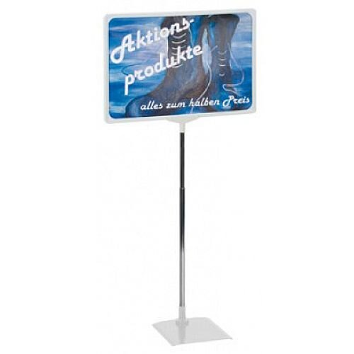 Franken Presentation Display Stand A3 Grey PSM A3 12