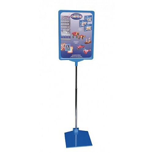 Franken Presentation Display Stand A4 Blue PSM A4 03