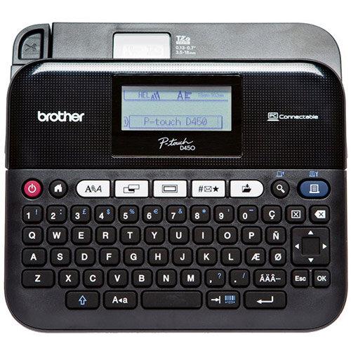 Brother PT-D450VP Professional Desktop Labelmaker