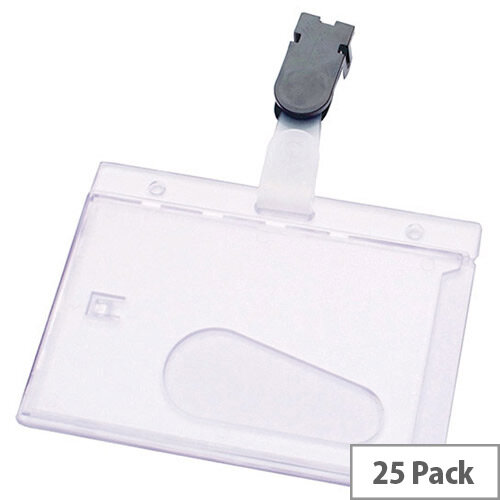 Security Pass Holder 60x90mm Pack 25