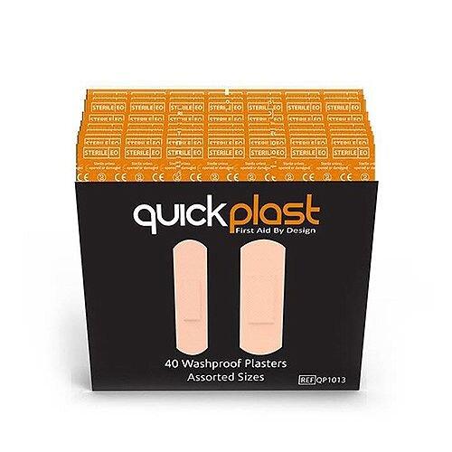 Quickplast Washproof Refill 40 Plasters