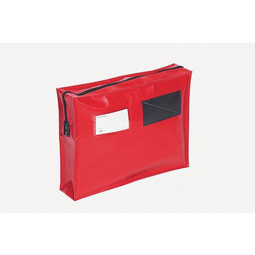 Tamer Evident Full Gusset Mail Pouch Red 406x305x76mm