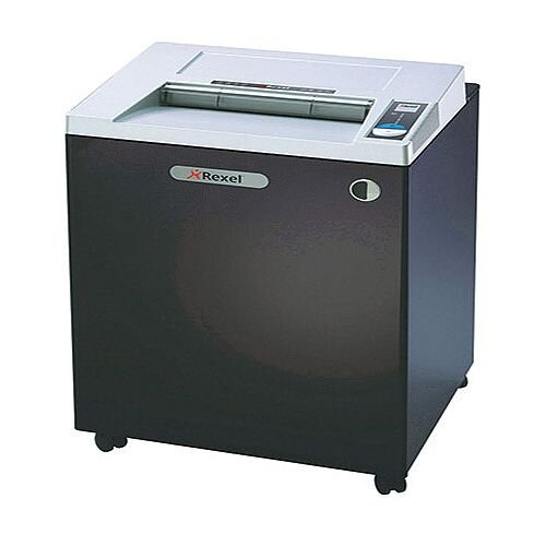 Rexel RLWS35 Wide Entry Strip-Cut Shredder Black 2103035