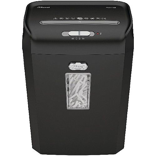 Rexel Promax RES1123 Strip-Cut Executive Paper Shredder with Security level: P-2 - Shreds 12 sheets at a time into 6mm pieces. Also shreds staples and credit cards. 23 litre bin for mess free emptying.