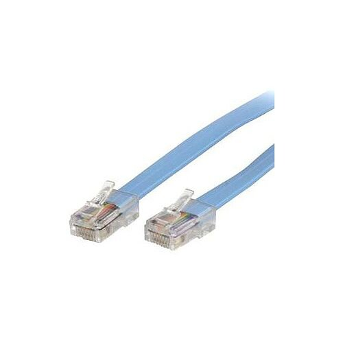 StarTech 6 ft Cisco Console Rollover Cable RJ45 M/M 1 x RJ-45 Male Network 1 x RJ-45 Male Network Blue ROLLOVERMM6