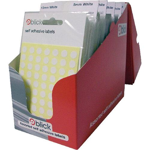 Blick Pop Pack Label White Pack of 100 RS000051