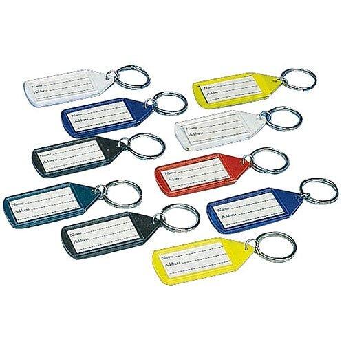 Stephens Assorted Tabbies Keyrings Pack of 10