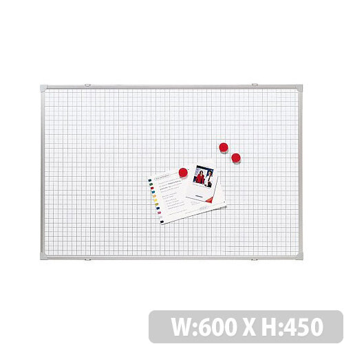 Franken Grid Board ValueLine 60x45cm Lacquered Steel RT2812