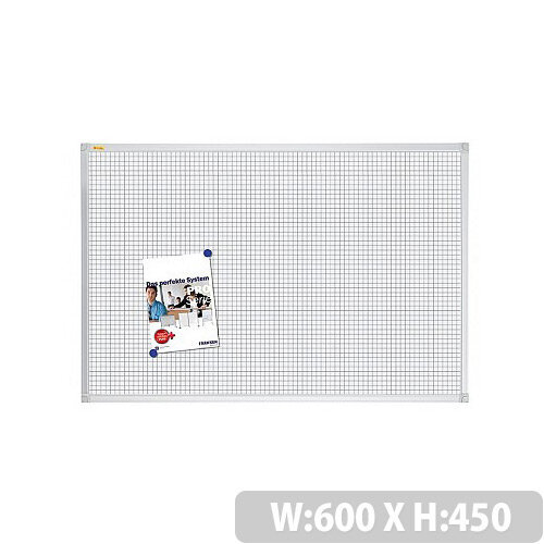 Franken Grid Board ValueLine 600x450mm Lacquered Steel RT3812
