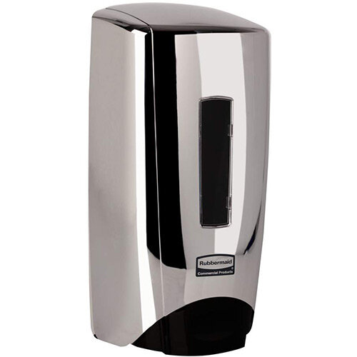Rubbermaid Flex Manual Skin Care System 1300ml Soap Dispenser Chrome