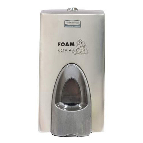 Rubbermaid 800ml Enriched Foam Soap Dispenser Stainless Steel
