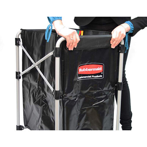 Rubbermaid X-Cart Folding Cart Frame 150L Grey