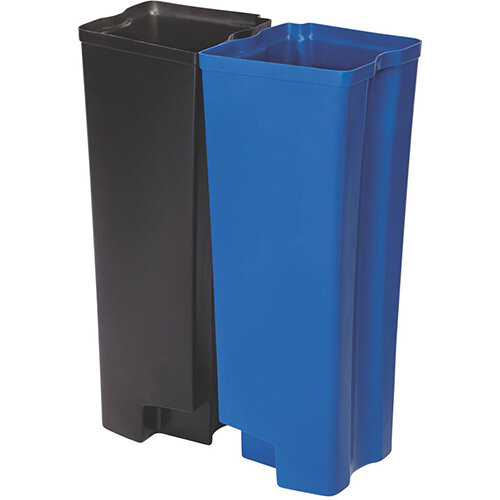 Rubbermaid Dual Liner Set 2 x 45L For Slim Jim 90 Litre Front Step Step-On Resin Pedal Bin
