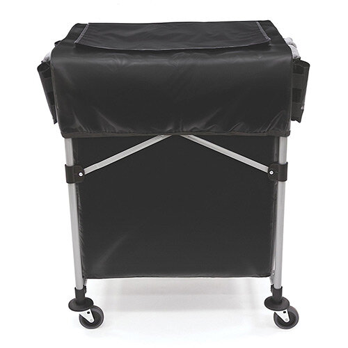 Rubbermaid 1889864 Collapsible X-Cart Cover For 150L Model Black