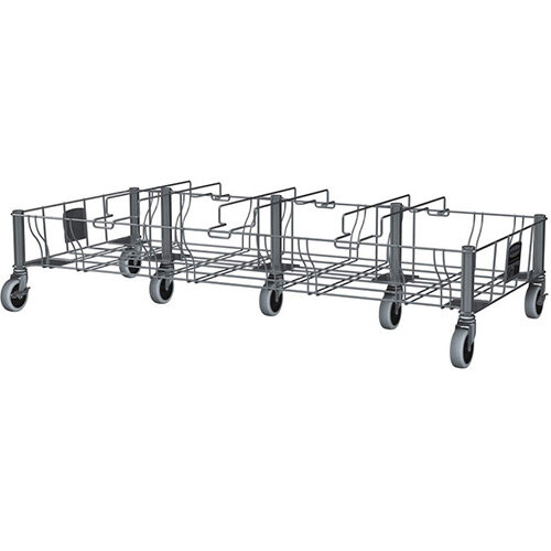 Slim Jim Stainless Steel Quadruple Dolly