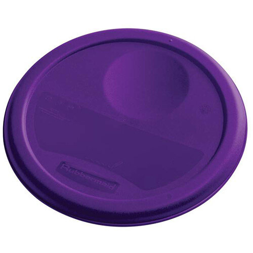 Rubbermaid Small Lid For 3.8L Round Food Storage Containers Purple