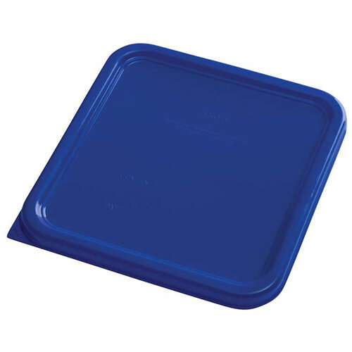 Rubbermaid Small Lid for 3.8L &7.6L Space Saving Square Food Storage Containers Blue