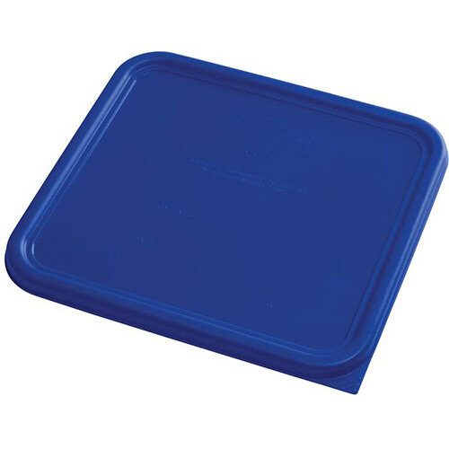 Rubbermaid Large Lid for 11.4L Space Saving Square Food Storage Containers Blue
