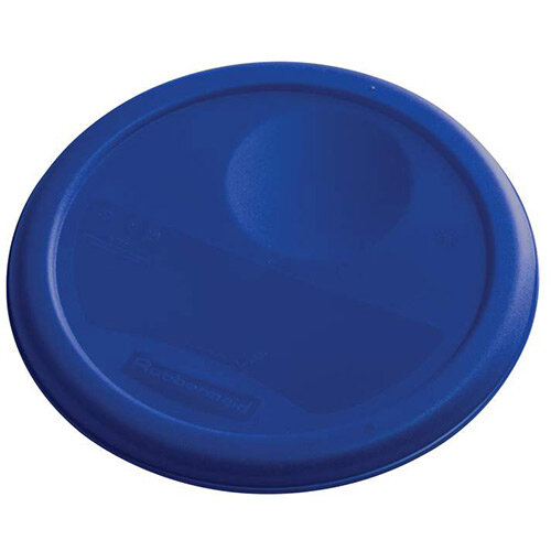 Rubbermaid Small Lid For 3.8L Round Food Storage Containers Blue