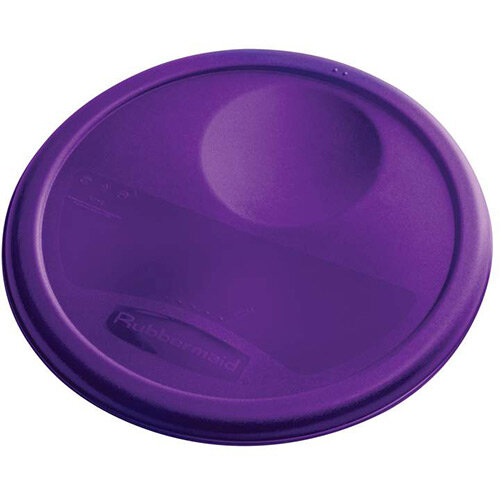 Rubbermaid Medium Lid For 7.6L Round Food Storage Containers Purple