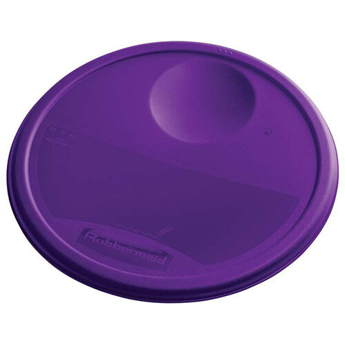 Rubbermaid Large Lid For 11.4L, 17L &20.8L Round Food Storage Containers Purple