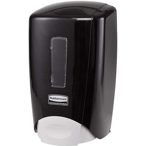 Rubbermaid Flex Manual Skin Care System 500ml Soap Dispenser Black