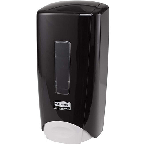 Rubbermaid Flex Manual Skin Care System 1300ml Soap Dispenser Black